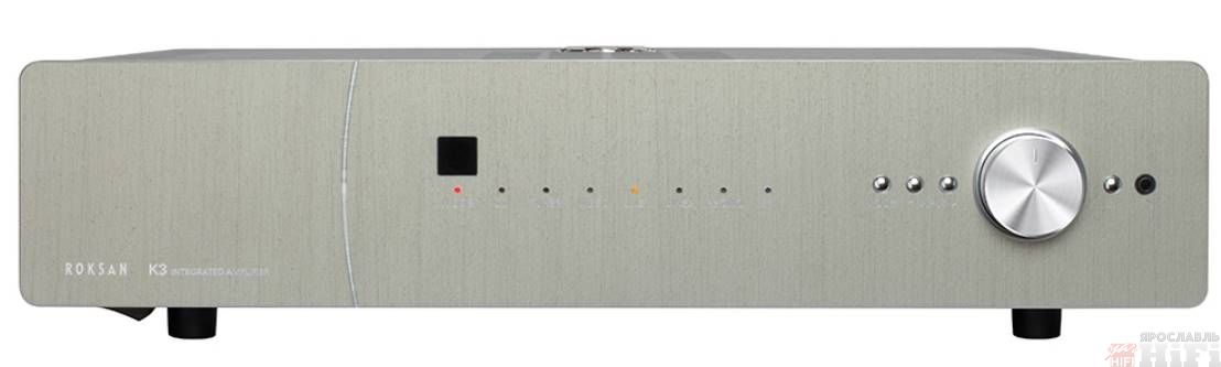 K3 Integrated Amplifier Anthracite